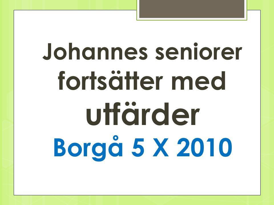 Johannes Högbergsgatan 10 - ny samlingsenhet Fredags luncher från hösten 2011