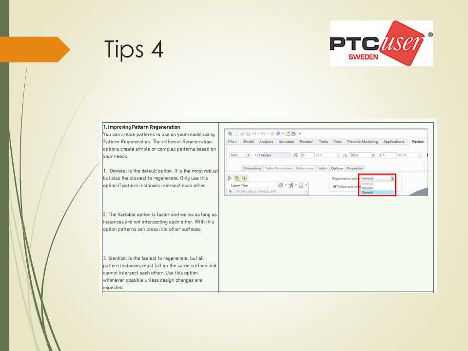 Tips 19 demo  Fil = spark\spark_analysis_extension.asm  Analysis – Electrical Clearance  Lite = Clearance  Välj a quilt-component pair  Välj 1: komp vid brun 2: komp vid gul/grön  Creepage threshold =20 mm  Groove width = 1 mm  Compute  Övriga ingen demo
