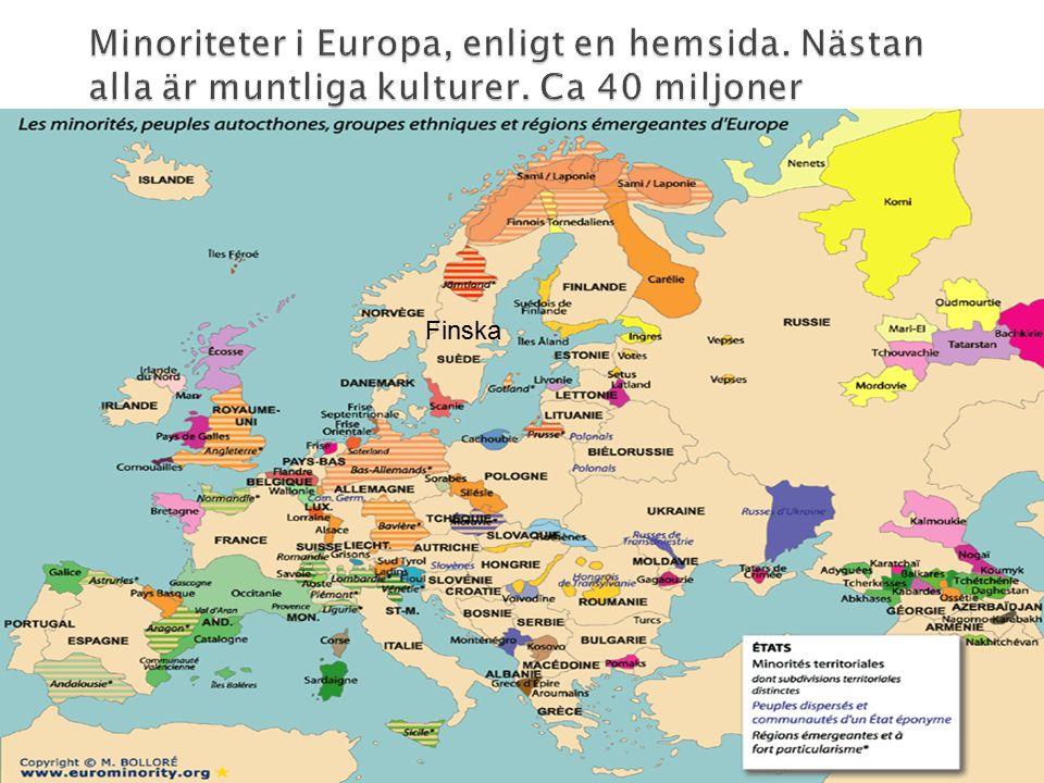  Svenska är ett förvaltarspråk, som alla skriftspråk.