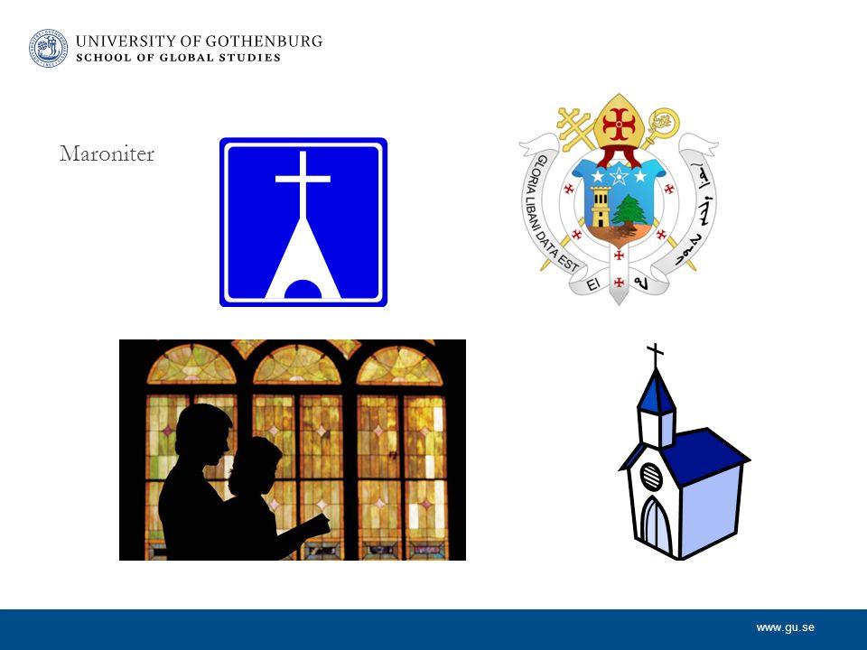 www.gu.se Maroniter