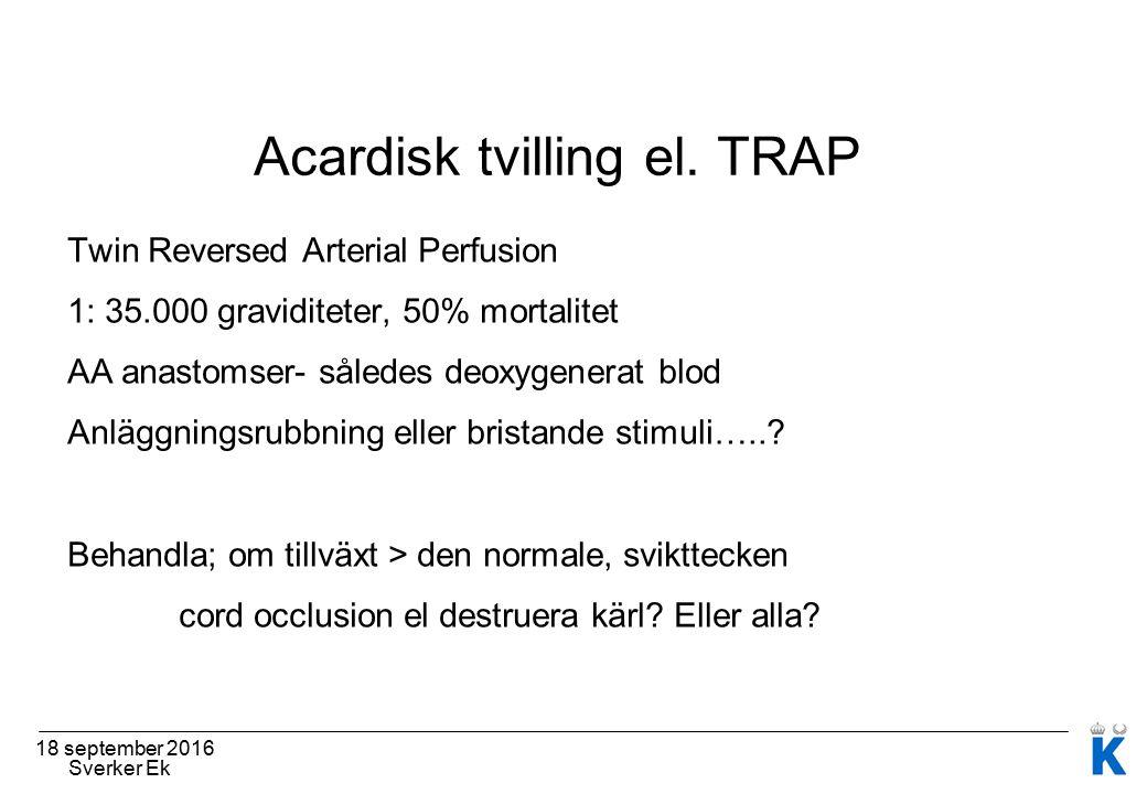 18 september 2016 Sverker Ek Acardisk tvilling el.