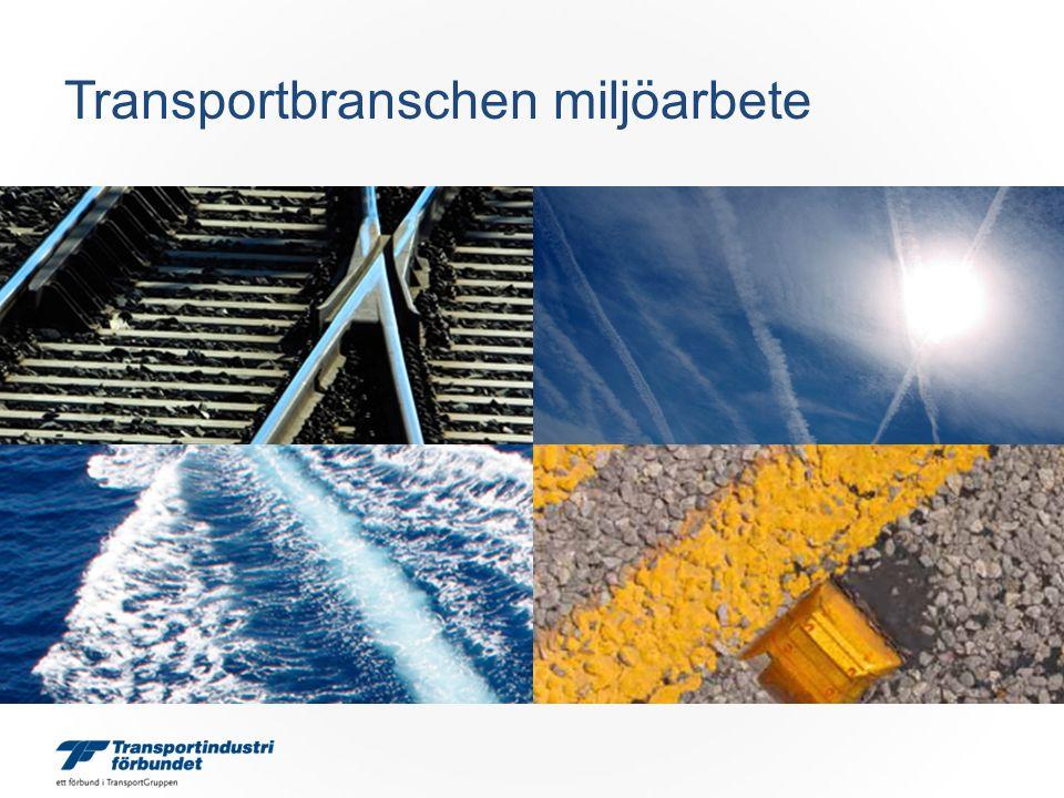 Transportbranschen miljöarbete