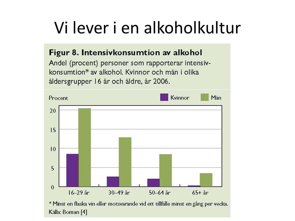 Vi lever i en alkoholkultur