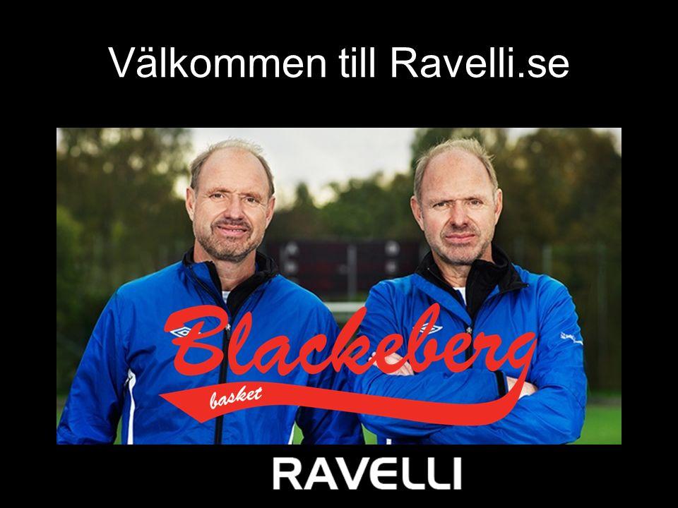 Välkommen till Ravelli.se