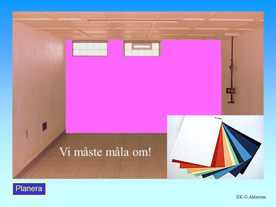Planera Vi måste måla om! ©K-G Ahlström