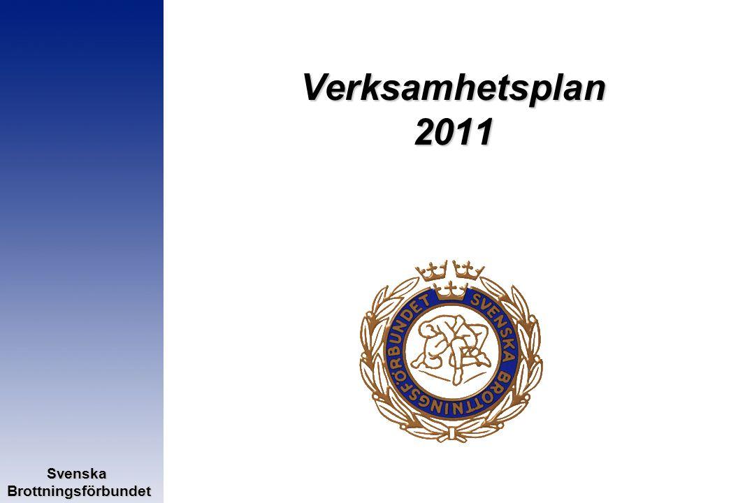 SvenskaBrottningsförbundet Verksamhetsplan 2011