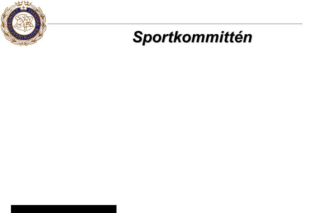 6 © Svenska Brottningsförbundet 2005 Sportkommittén