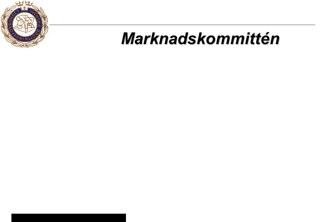 9 © Svenska Brottningsförbundet 2005 Marknadskommittén