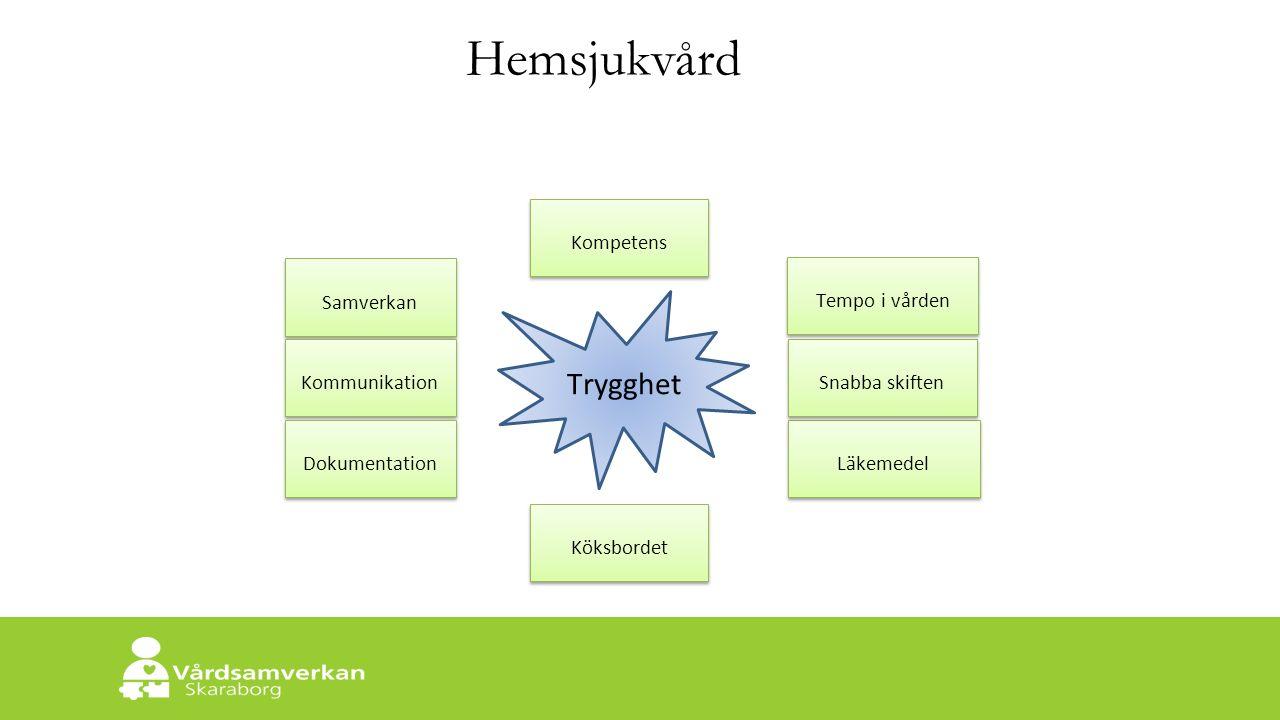 Skaraborgs Sjukhus Västra Götalandsmodellen för interprofessionell samverkan Närsjukvårdsteamets reflektioner om vad som verkligen gör skillnad