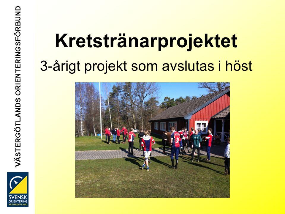 Kretstränarprojektet 3-årigt projekt som avslutas i höst VÄSTERGÖTLANDS ORIENTERINGSFÖRBUND