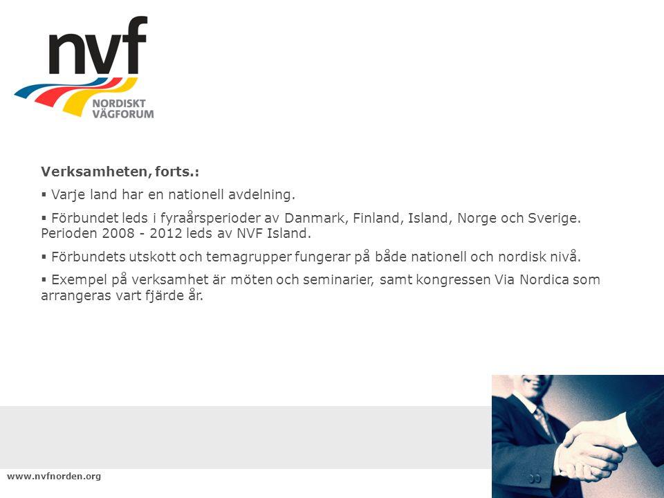 www.nvfnorden.org Internetpolicy  Der findes f.eks oplysninger om mål og principper.