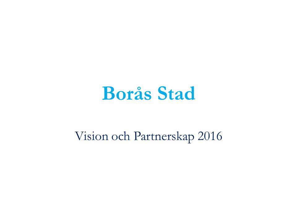 Borås Stad Vision och Partnerskap 2016