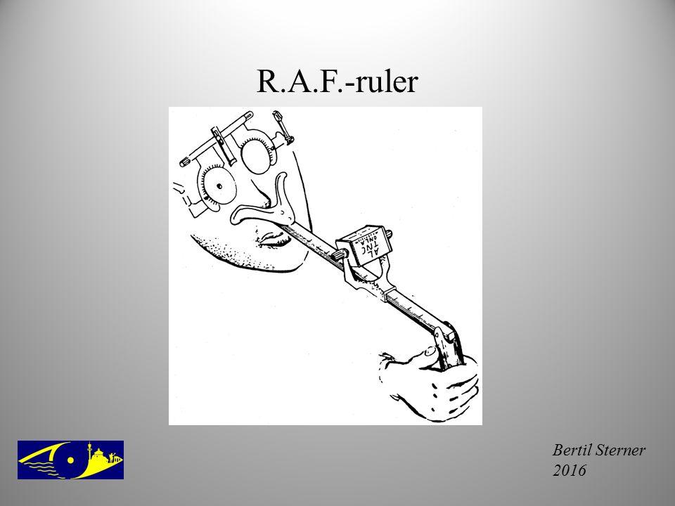 Bertil Sterner 2016 R.A.F.-ruler