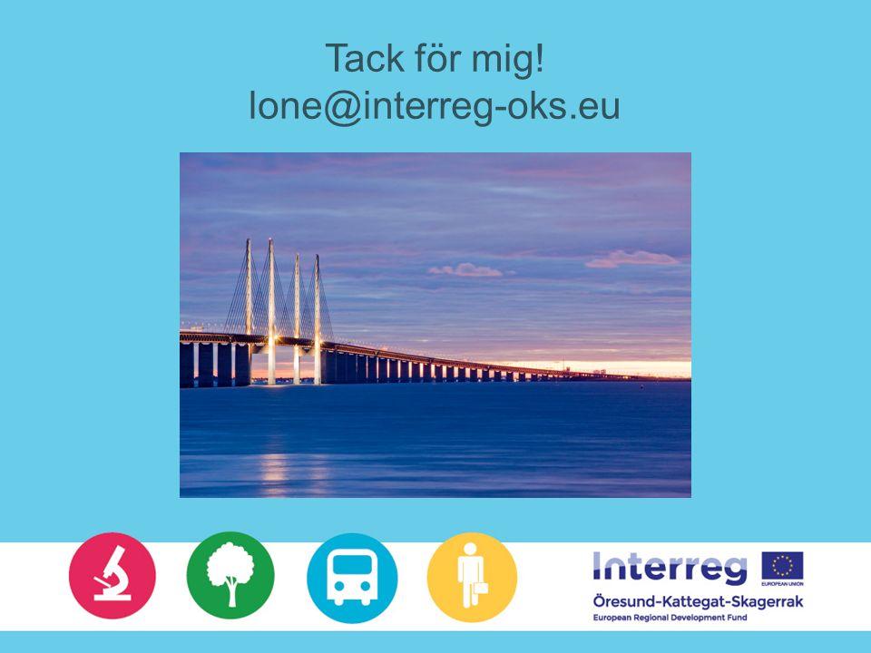 Tack för mig! lone@interreg-oks.eu