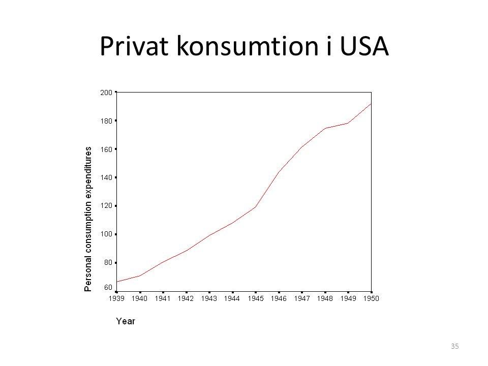 Privat konsumtion i USA 35