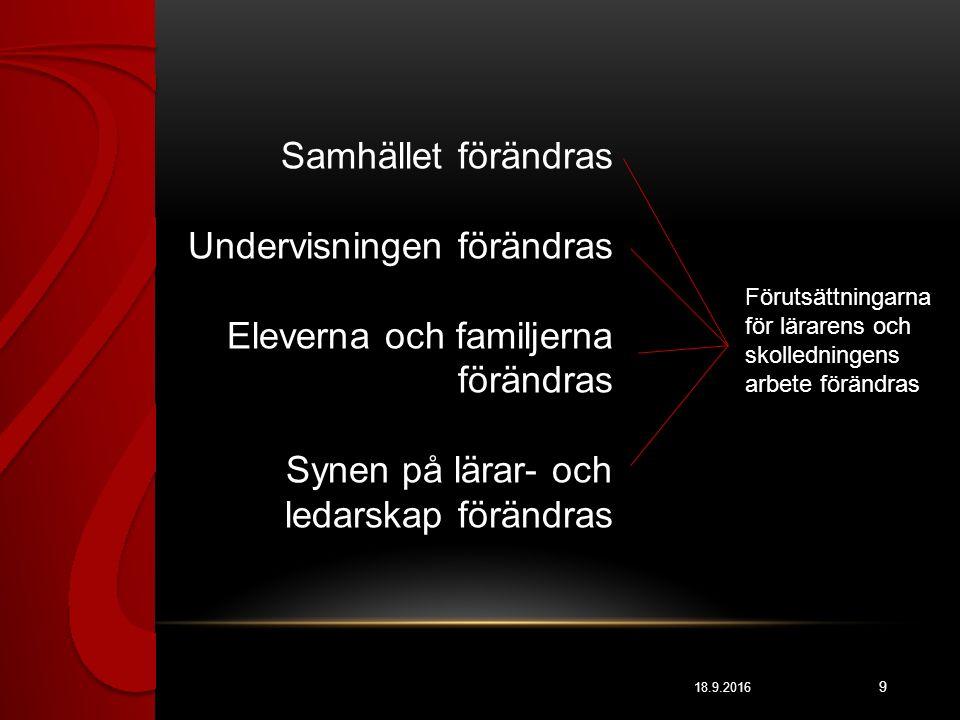 GODA NYHETER 18.9.2016 20 Skolmobbningen har minskat i grundskolan de senaste fem åren (från 11,3 % - 6,7 %) Keskisuomalainen 12.4.2015