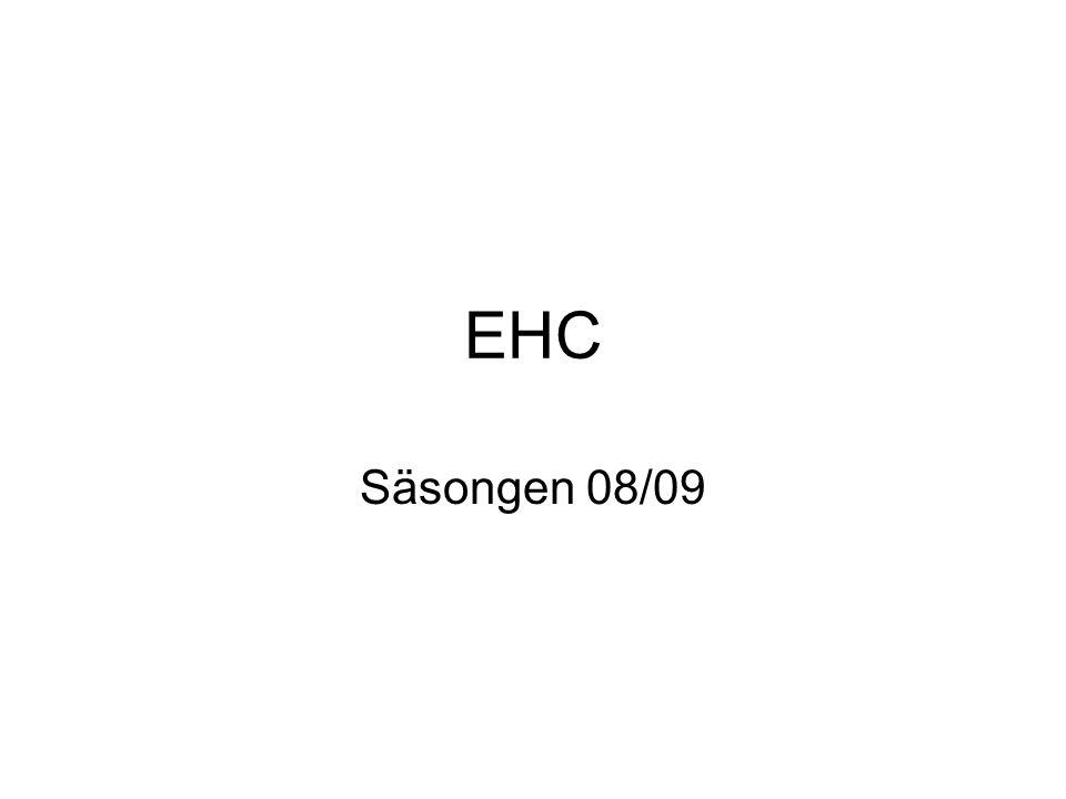 EHC Säsongen 08/09