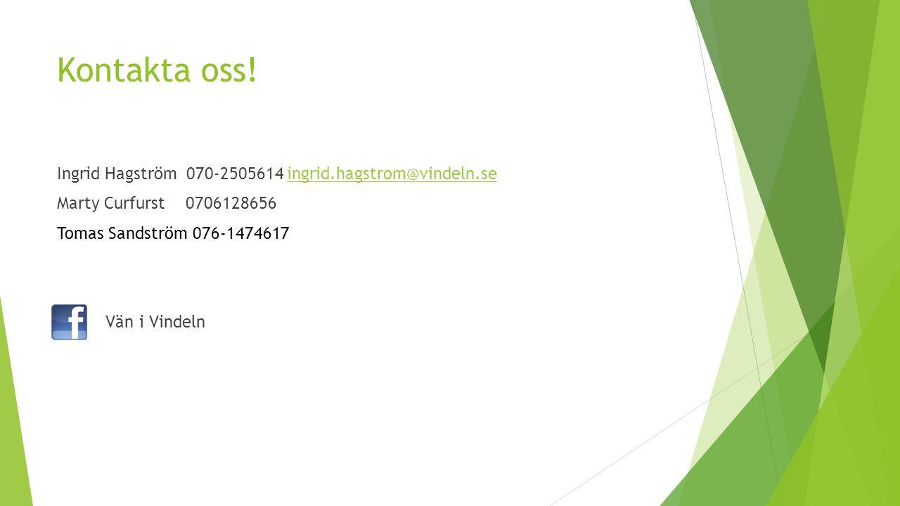 Kontakta oss.
