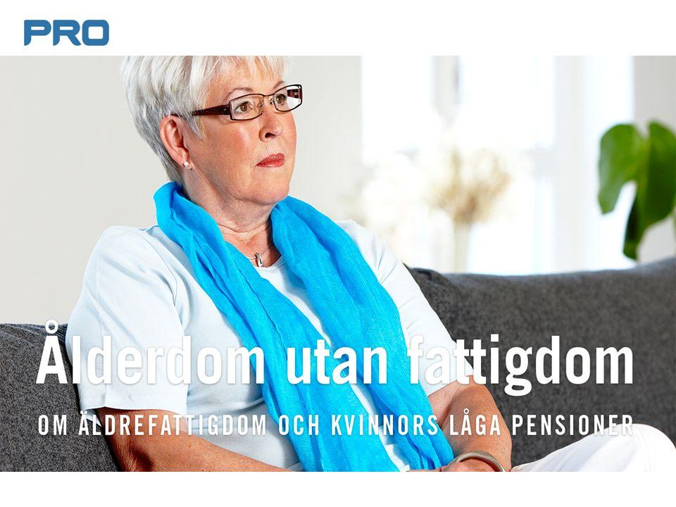 Ålderdom utan fattigdom Om äldrefattigdom och kvinnors låga pensioner