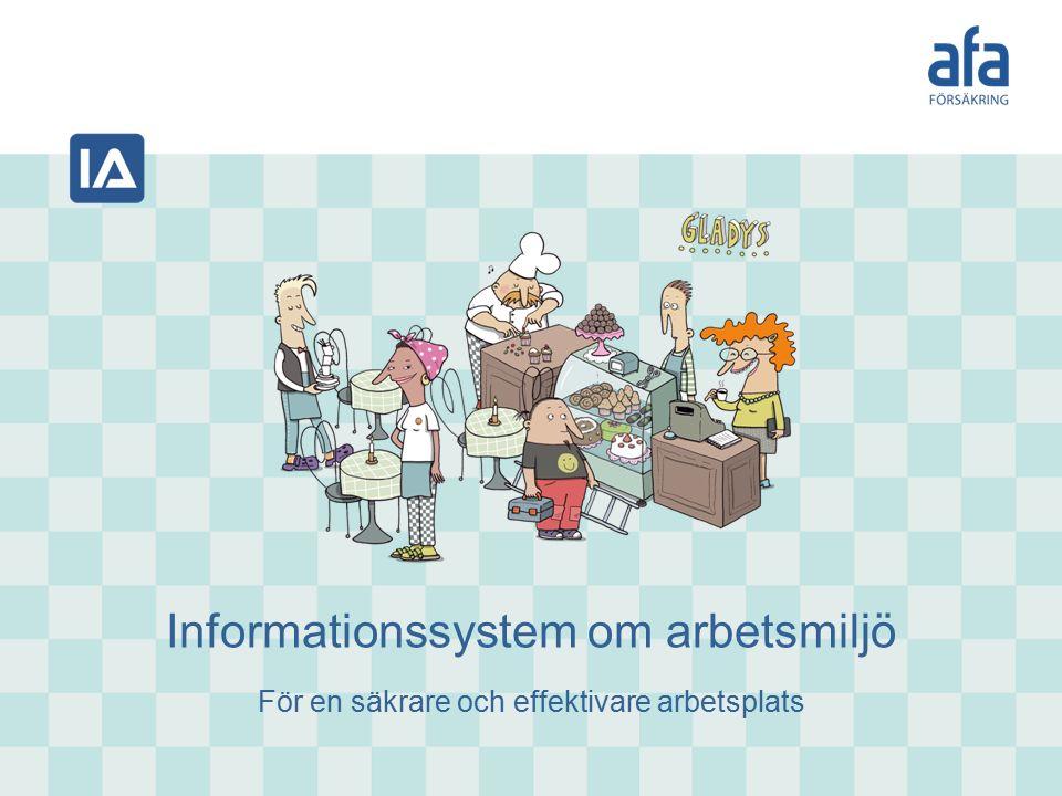 Informationssystem om arbetsmiljö För en säkrare och effektivare arbetsplats