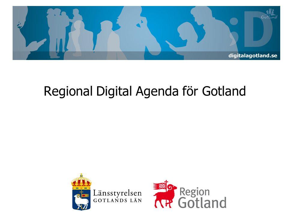 Regional Digital Agenda för Gotland