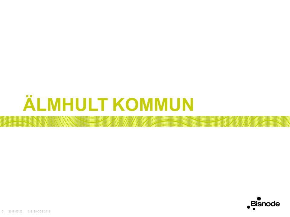 ÄLMHULT KOMMUN 2016-02-22© BISNODE 20165