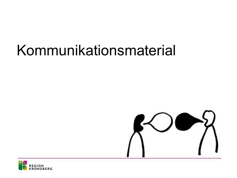 Kommunikationsmaterial