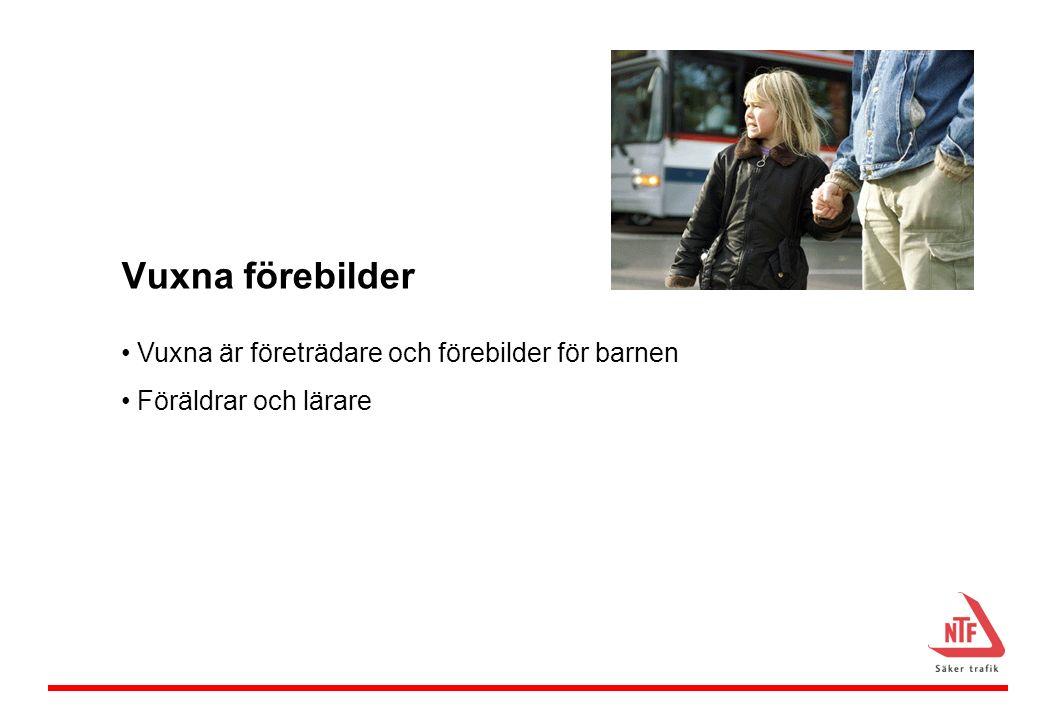 Information om cykelhjälm på ordinarie föräldramöten.