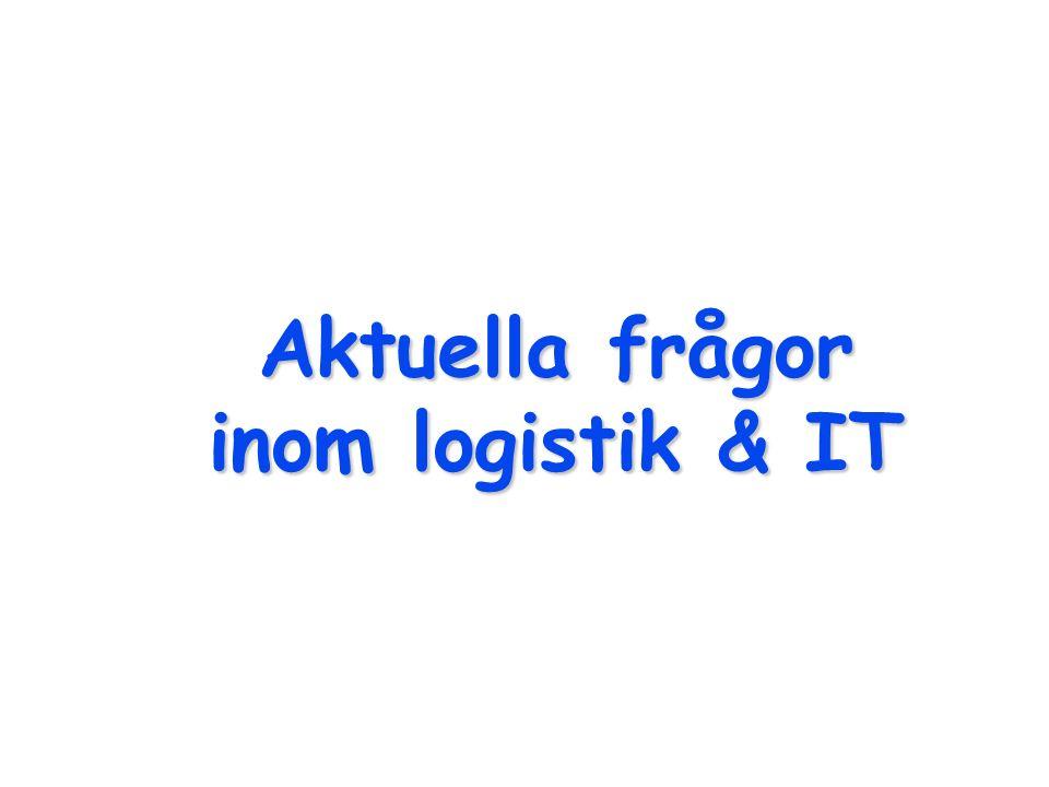Aktuella frågor inom logistik & IT