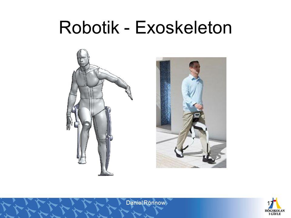 17 Robotik - Exoskeleton Daniel Rönnow