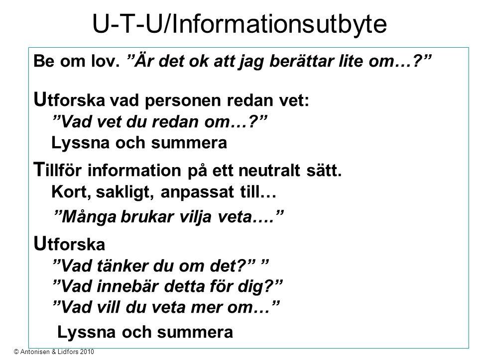 U-T-U/Informationsutbyte Be om lov.