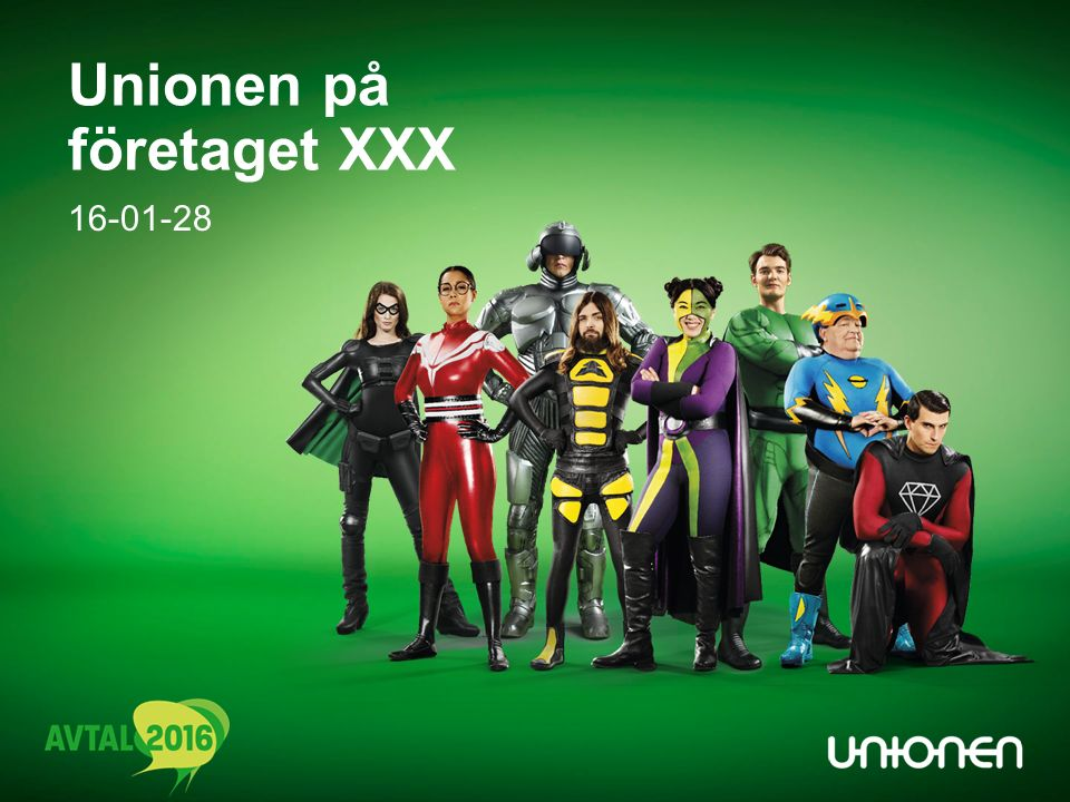 16-01-28 Unionen på företaget XXX