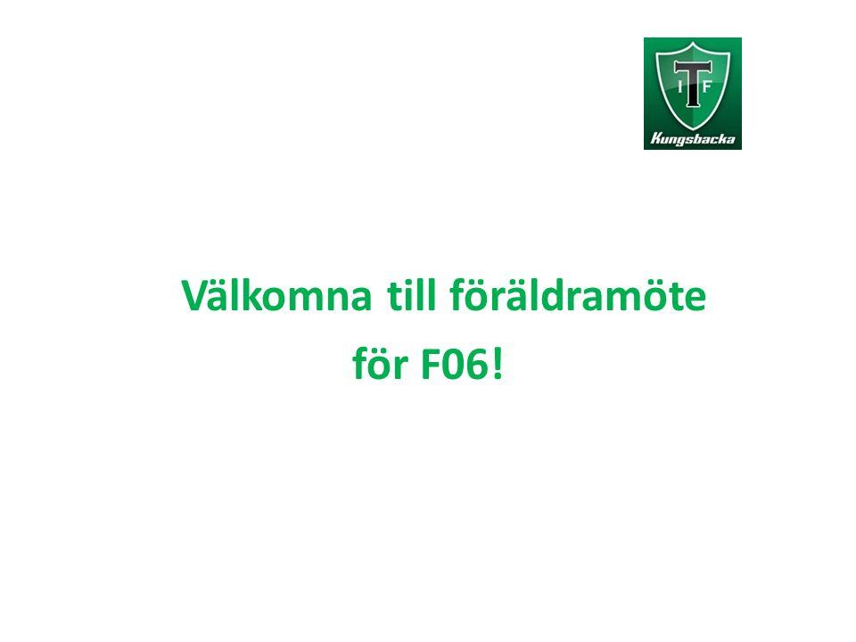 Välkomna till föräldramöte för F06!
