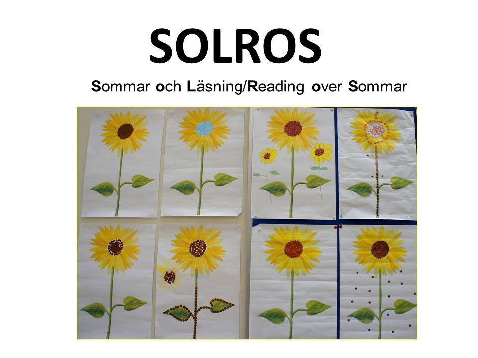 SOLROS Sommar och Läsning/Reading over Sommar
