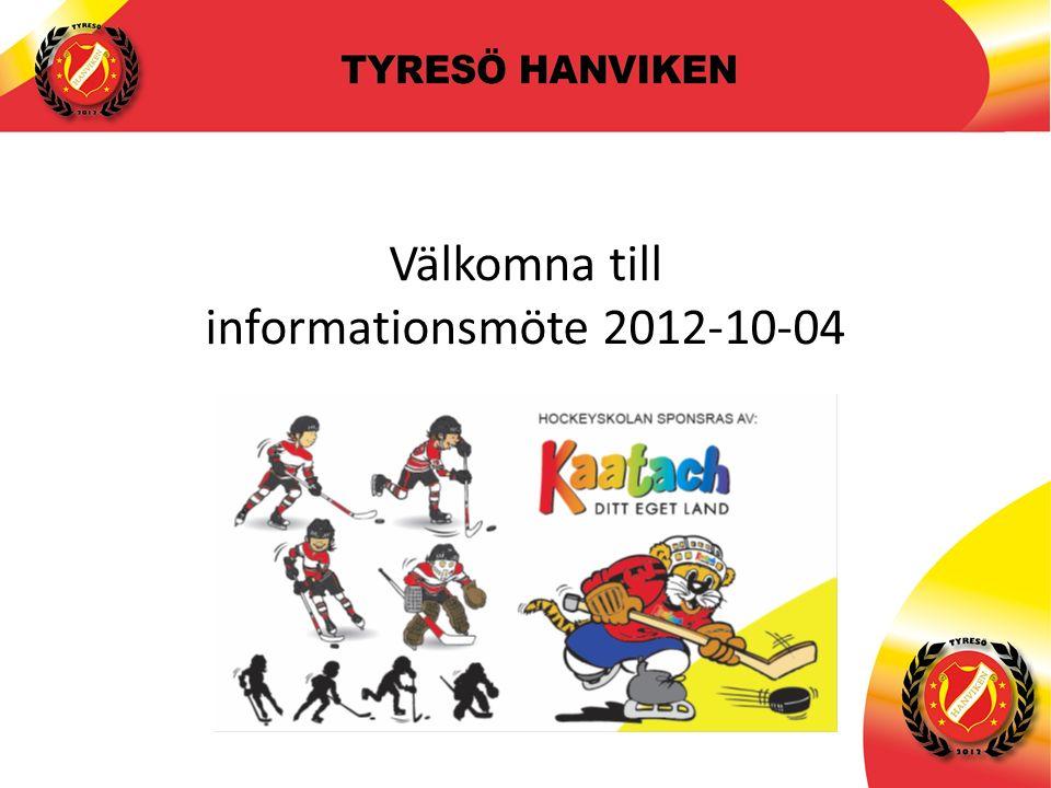 11 Föräldramöte Team 99 2012-05-21 Välkomna till informationsmöte 2012-10-04
