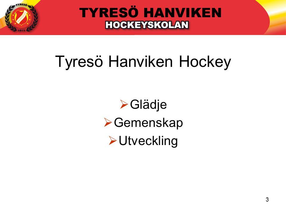 3 Tyresö Hanviken Hockey  Glädje  Gemenskap  Utveckling