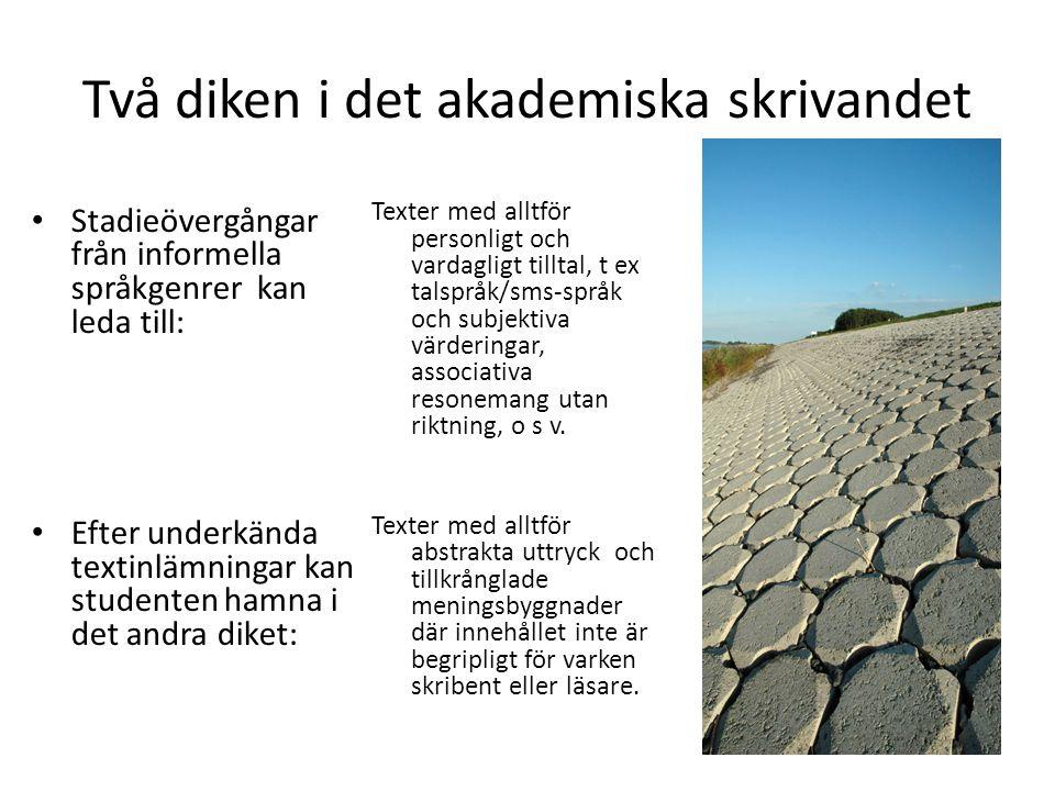 Studenter med svenska som andraspråk Hur bedöma deras skrivförmåga.