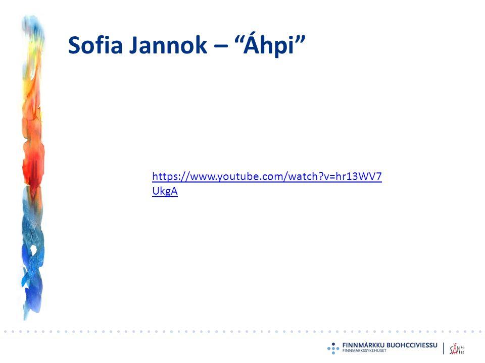 'Suicide as a consequence of Sami losing (or having lost) their identity' E1: - det är förknippat med renskötseln – det är det verkligen, och renskötseln (…) är så förknippad med identitet också.
