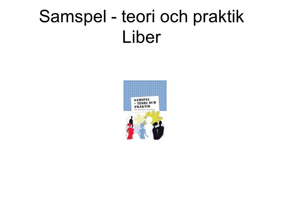 Samspel - teori och praktik Liber