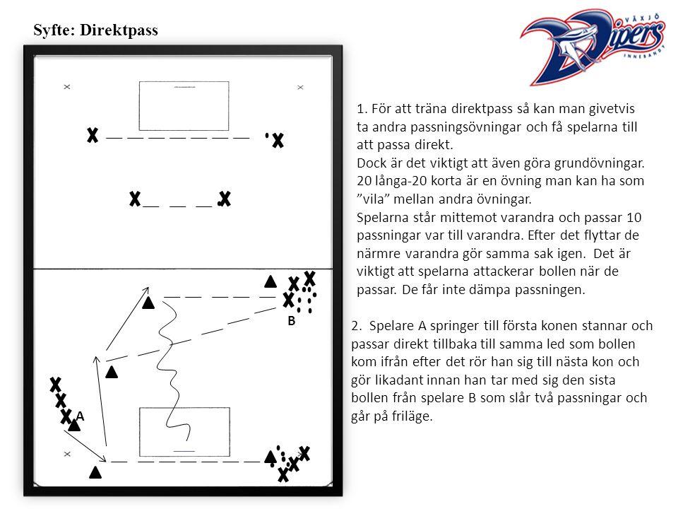 Syfte: Direktpass 1.