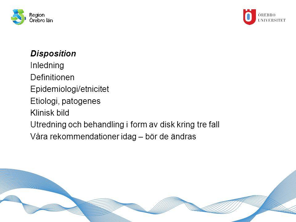 Definition, ESHRE/ ASRM 2004 Rotterdamkriterierna Två av tre av nedanstående: -Oligo/Anovulation -Hyperandrogenism: klinisk (acne, hirsutism, alopeci)/biokemisk -Polycystiska ovarier: minst ett ovarium med ≥12 antralfolliklar 2- 9 mm eller volym > 10 ml Differentialdiagnoser till anovulation och hyperandrogenism ska vara uteslutna