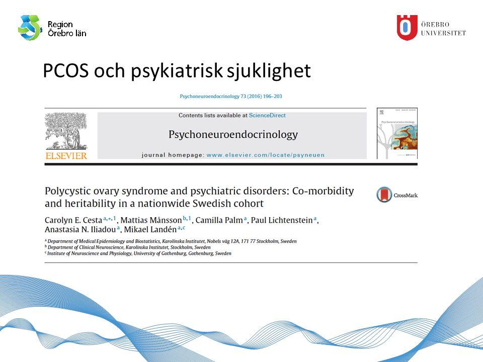 PCOS och psykiatrisk sjuklighet