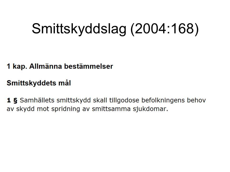 Smittskyddslag (2004:168)