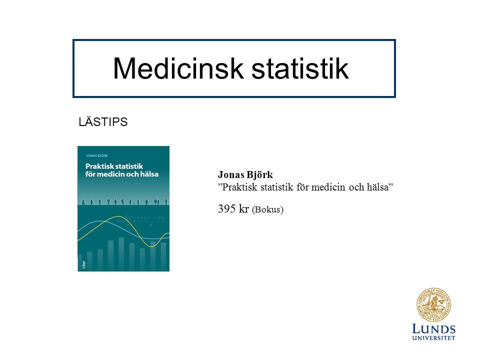 Konfidensintervall för en andel Exempel: Ett nytt läkemedel ska testas.
