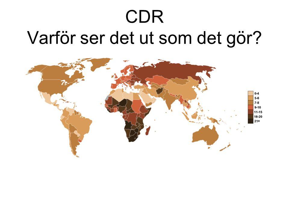 CDR Varför ser det ut som det gör