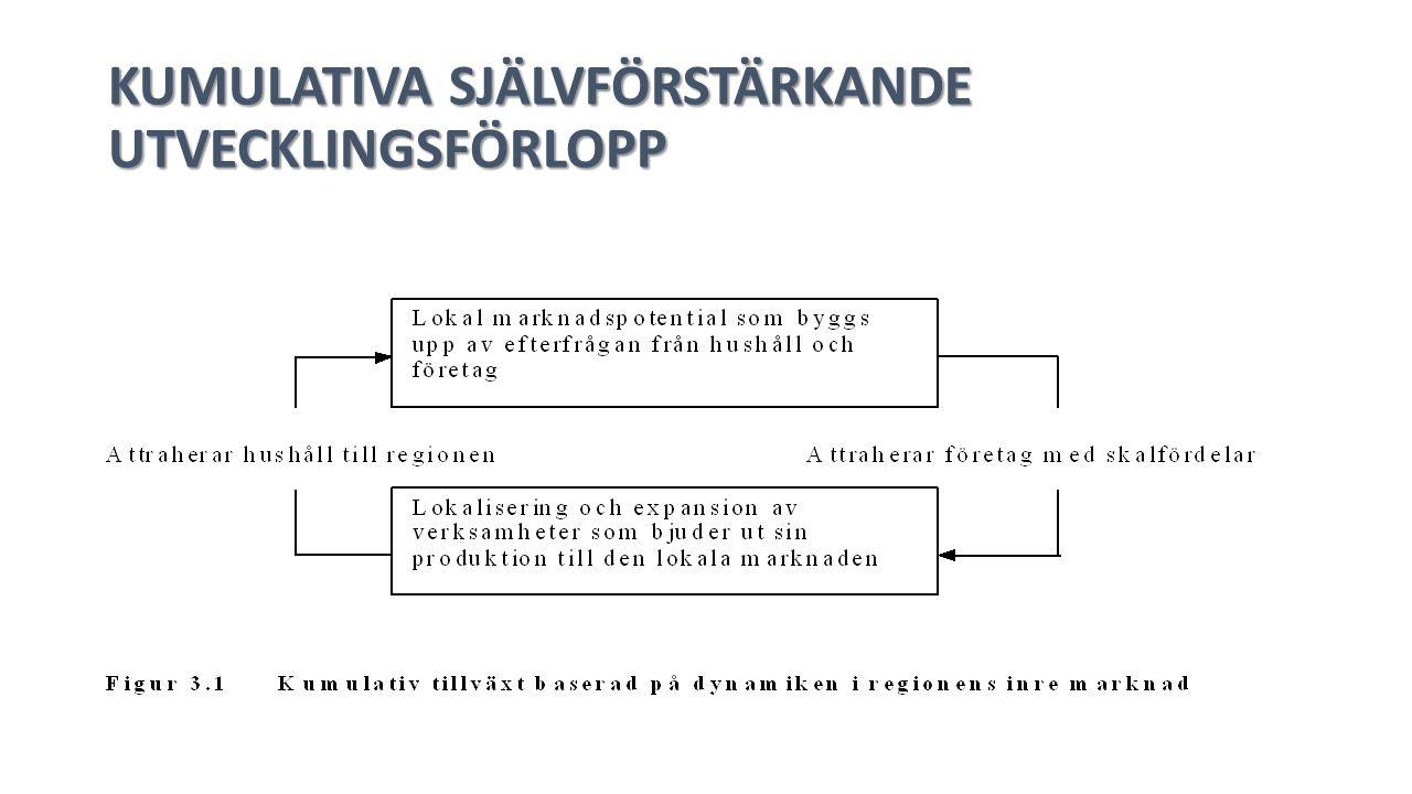 KUMULATIVA SJÄLVFÖRSTÄRKANDE UTVECKLINGSFÖRLOPP