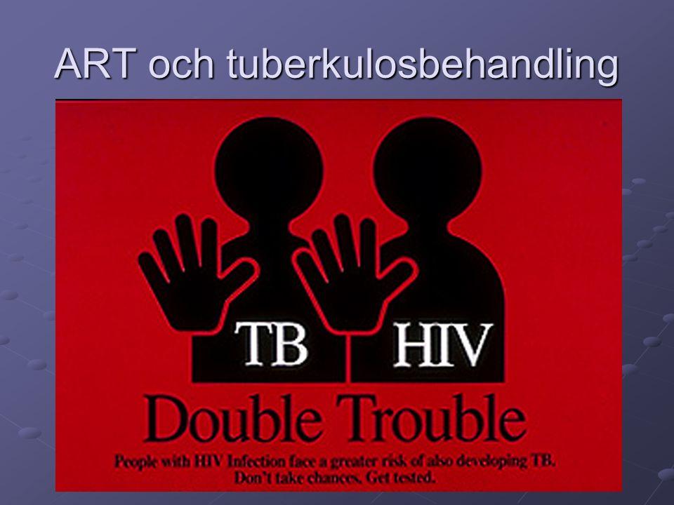 ART och tuberkulosbehandling
