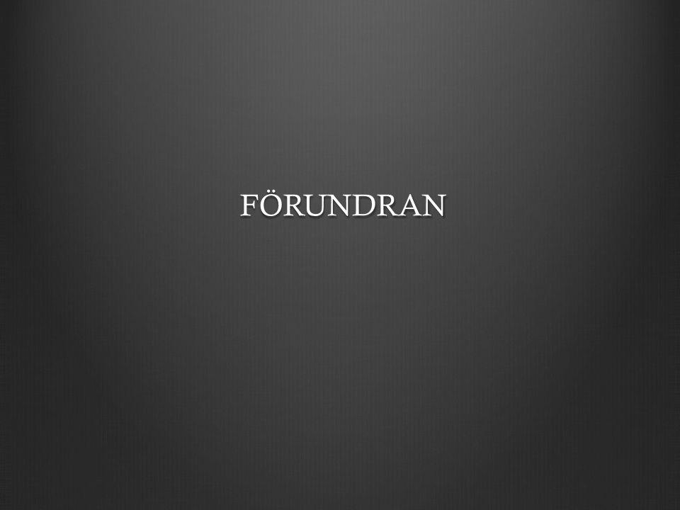 FÖRUNDRAN FÖRUNDRAN
