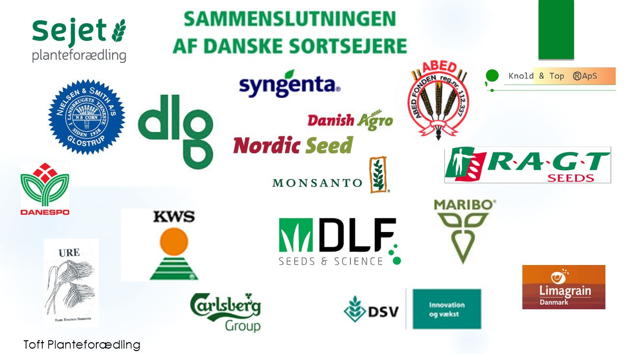 APVD Branchepolitiske opgaver  Farm Saved Seed.