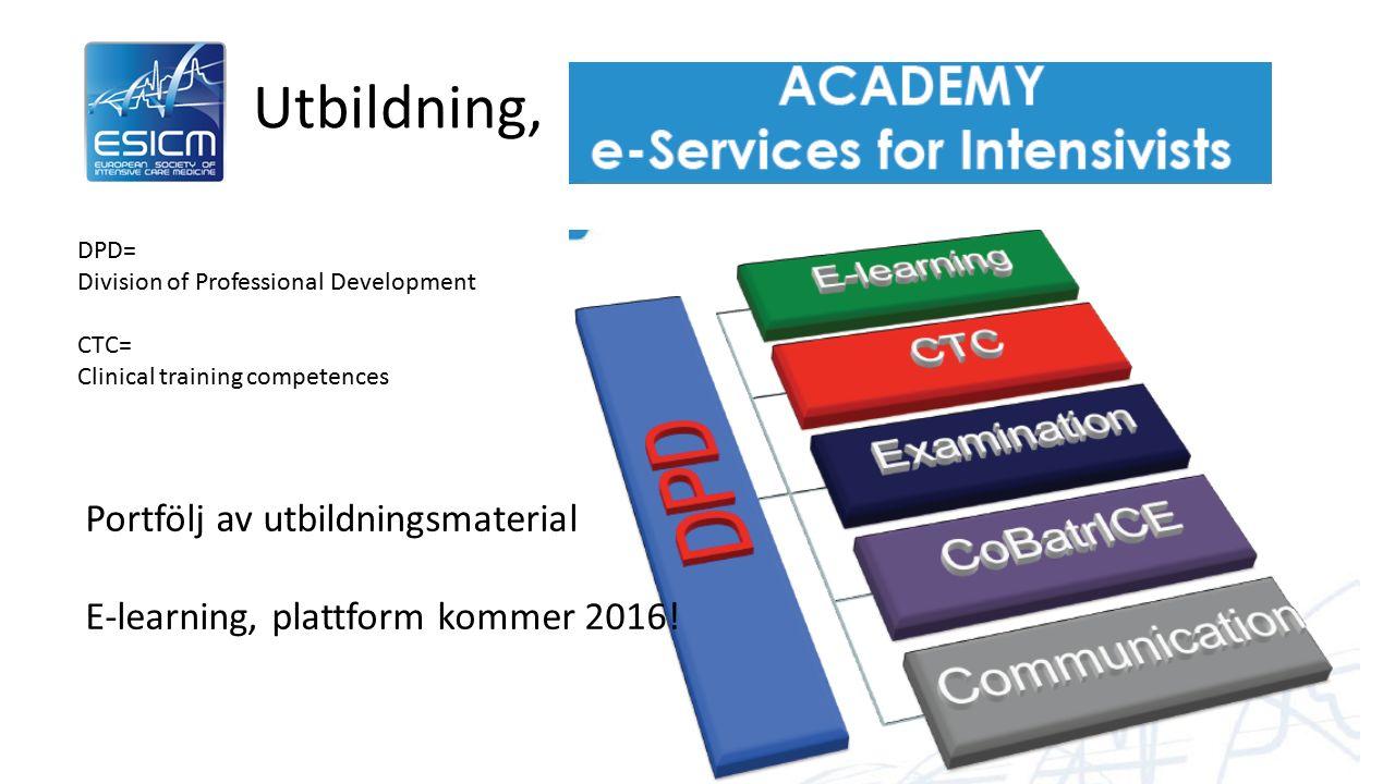 Ny struktur för examination Och uppföljning Examination